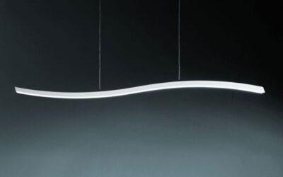Serpentine Fontana Arte lampada sospensione