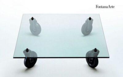 tavolino con ruote Fontana Arte