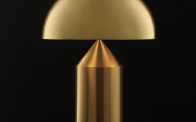 Atollo OLuce lampada oro