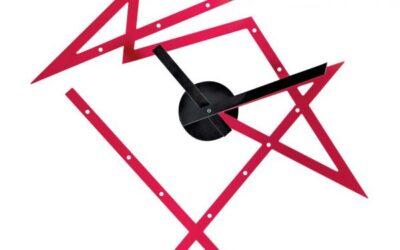 Time Maze Alessi Dl01 R orologio Alessi rosso