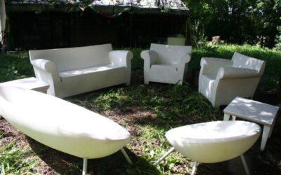 Bubble club Kartell divano e poltrona
