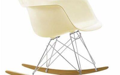 Eames Plastic Armchair RAR poltrona dondolo Vitra
