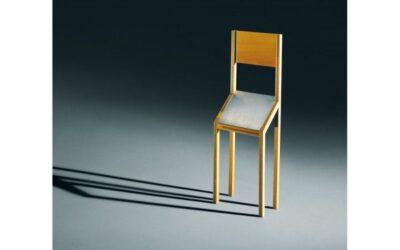 Singer Zanotta edizioni sedia scultura