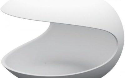 White Shell Zanotta tavolino