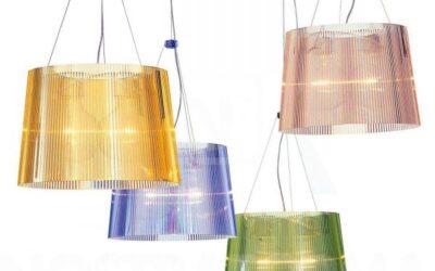 Gè Kartell lampada sospensione in policarbonato trasparente