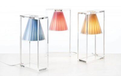 Light Air Kartell lampada da comodino
