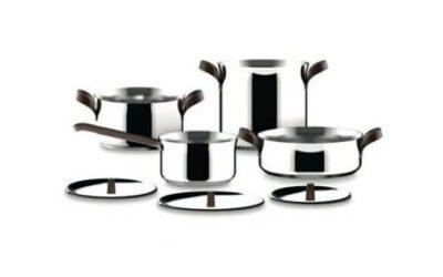 Offerta Edo batteria di pentole Alessi set 7 pezzi
