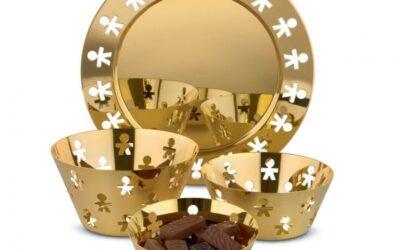 Girotondo Alessi Gold