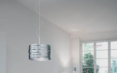 Artemide Aqua Cil lampada sospensione acciaio specchio