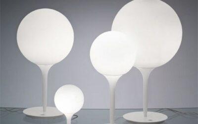 Castore tavolo Artemide lampada