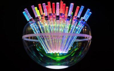 Spectral Light Artemide lampada sospensione vetro led