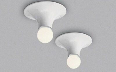 Teti Artemide lampada da parete o soffitto