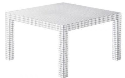 Quaderna tavolo Zanotta