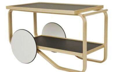 Artek carrello Alvar Aalto 901 Tea Trolley