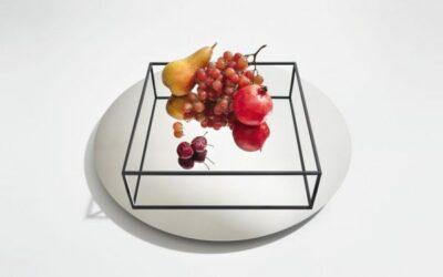 Surface  border no 1 Vassoio porta frutta Danese