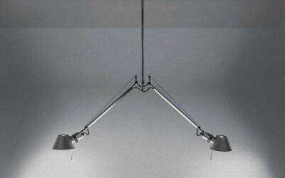 Tolomeo due bracci Artemide lampada