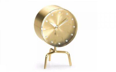 Tripod clock Vitra orologio da tavolo