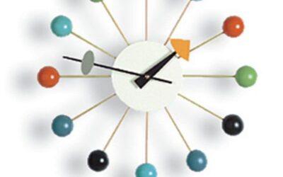 Ball Clock Vitra multicolore orologio design George Nelson