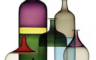 Bolle Venini bottiglie vasi