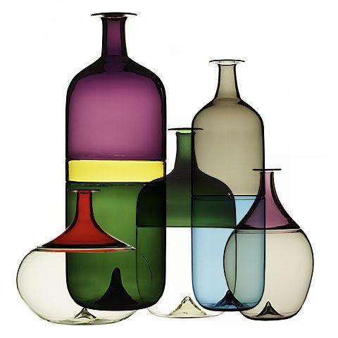 Venini vasi in vetro di Murano
