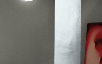 lampada parete soffitto Button Flos