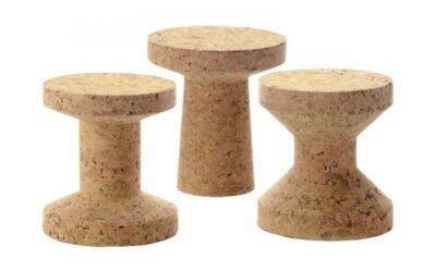 Cork Family stool Vitra sgabello in sughero