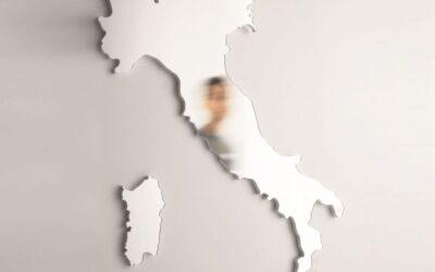 specchio Belvedere Italia Danese
