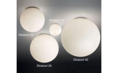 Dioscuri Artemide lampada da soffitto o parete