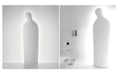 Dulcinea Artemide lampada scultura Mimmo Paladino design