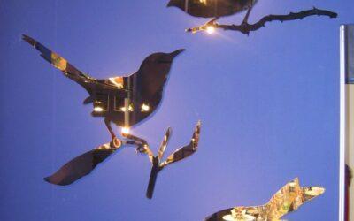 specchi uccelli Diade Taylor Bird e Snijder Bird