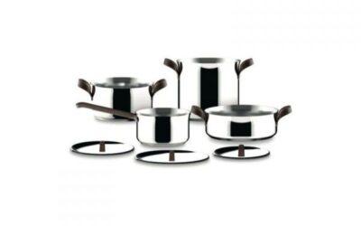 Edo Alessi batteria di pentole set da 7 pezzi Offerta