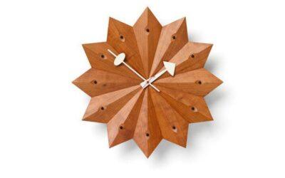 Fan Clock Vitra orologio design GEORGE NELSON