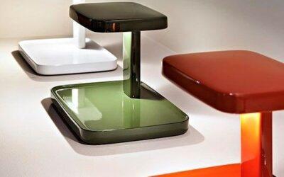 Piani Flos lampada da tavolo con svuota tasche