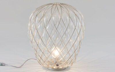 Pinecone Fontana Arte lampada da tavolo
