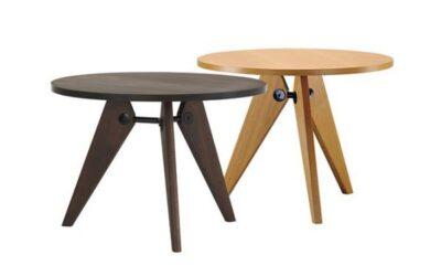 Gueridon Vitra tavolo rotondo