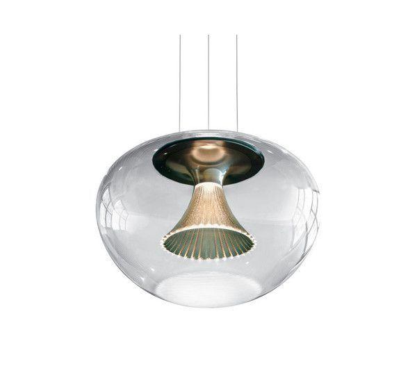 lampada sospensione Ipno vetro Artemide