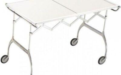Battista Kartell carrello tavolino pieghevole