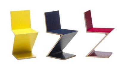 Zig Zag Cassina sedia