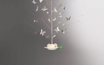 lampada Ingo Maurer La Festa delle Farfalle