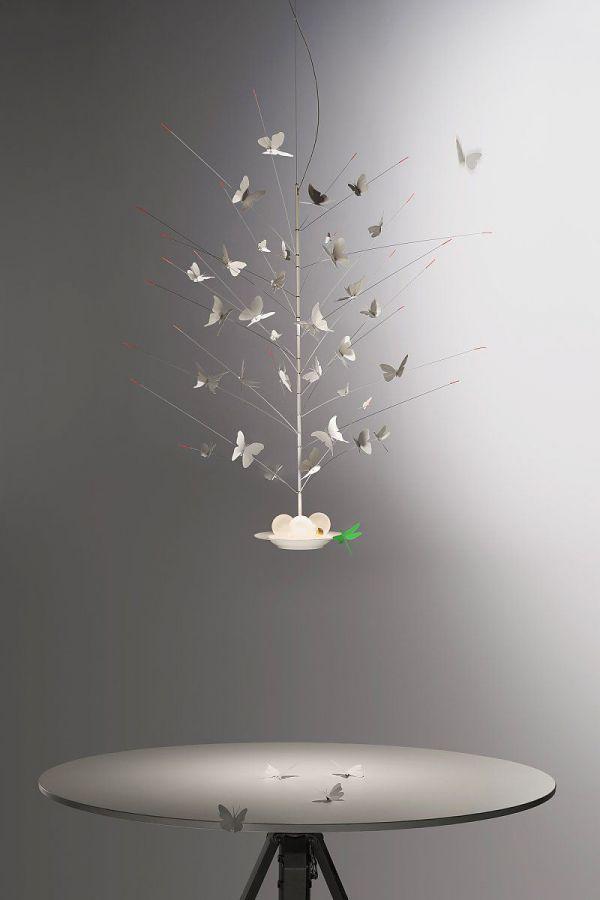la Festa delle Farfalle lampada sospensione Ingo Maurer