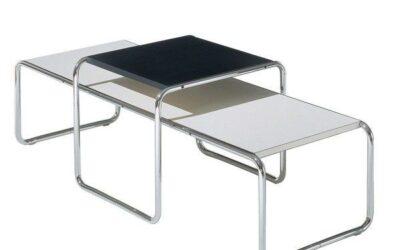 Laccio Knoll tavolini design Breuer