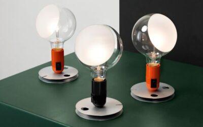 Lampadina Flos lampada da tavolo design Achille Castiglioni