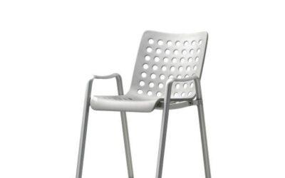 Landi Vitra sedia in alluminio