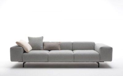 Largo Velvet Kartell divano