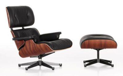 Lounge Chair & Ottoman Vitra poltrona