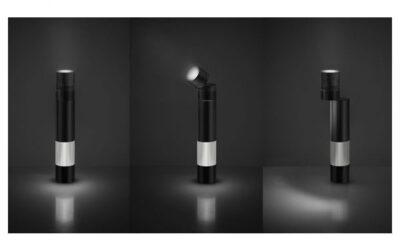Objective Artemide lampada da tavolo