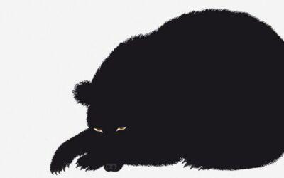 Sei L'Orso Danese stampa serigrafia Enzo Mari