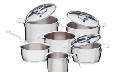 Pots e Pans  Alessi batteria di pentole