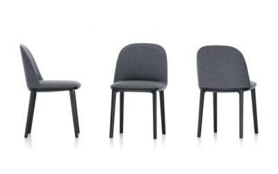 Softshell Side Chair Vitra Sedia