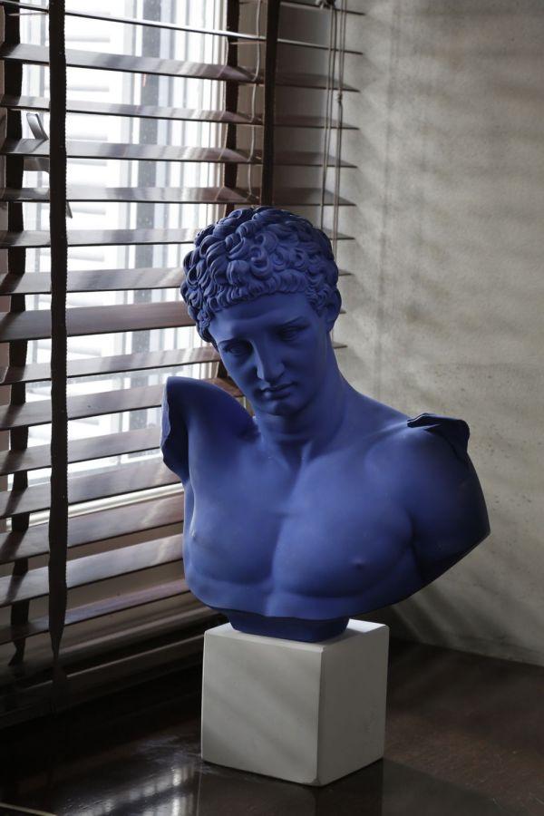 SOPHIA Statue Busti Teste pop art tinte forti